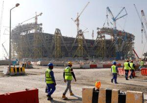 Las obras del Mundial de Qatar siguen su curso pese al Coronavirus